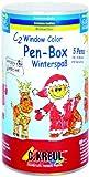 Hobby Line 41155 - C2 Window Color Pen Box Winterspaß