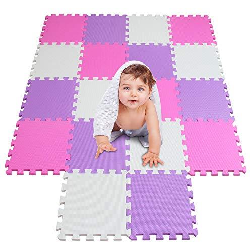 meiqicool Alfombras Puzzle para Bebes Alfombras de Juegos Infantiles Alfombra Puzle para...