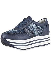 best service c2801 8d256 Suchergebnis auf Amazon.de für: Plateau-Sneaker - Blau ...