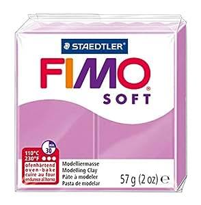 Staedtler - Fimo Soft - Pain Pâte à Modeler 57 g Lavande