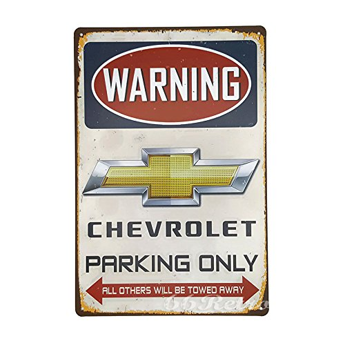 66retro-chevrolet-parking-only-vintage-retro-metal-tin-sign-wall-decorative-sign-20cm-x-30cm