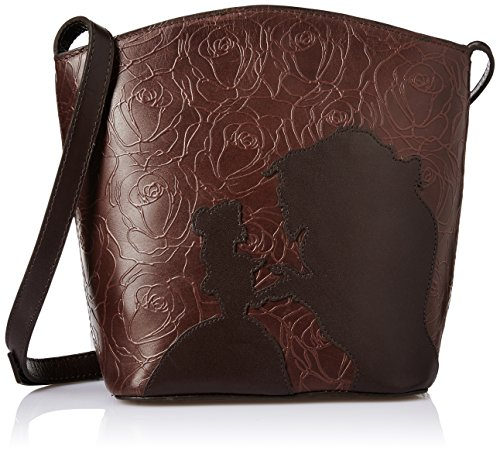Hidesign Women's Sling Bag (Brown and Light Brown)  available at amazon for Rs.4595