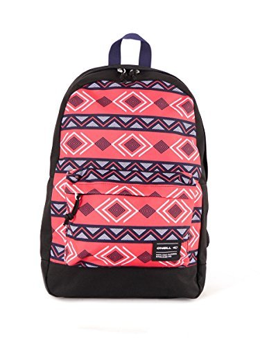 O 'Neill Mochila Backpack Coast Line Graphic Rosa acolchado 20litros