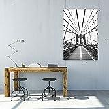 artboxONE Poster 60x40 cm Städte/New York Netz von New York Kunstdruck - Bild Städte/New York von Florian Kunde