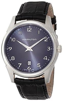 Hamilton Men's Analogue Quartz Watch with Leather Strap H38511743