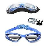 Schwimmen Brillen, Vdealen Schwimmbrille Anti-Fog UV-Schutz...