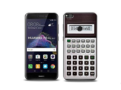 etuo Huawei P8 Lite (2017) Handyhülle Schutzhülle Etui Hülle Case Cover Tasche für Handy Fantastic Case - Rechner