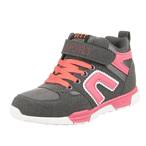 K pour enfants, chaussures de loisir à 5 Gris - Grau (31-36)
