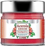 Premium Vitamin C - Acerolapulver/Acerola Kirschen - Extrakt. GESUMAX® Reines Naturprodukt. Vegan. Hochkonzentriert. Fruchtiger Geschmack.