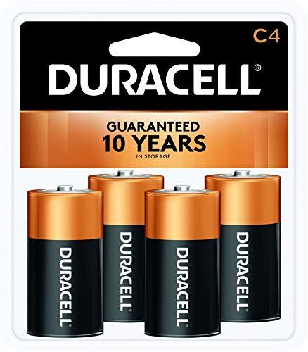 Duracell CopperTop C Alkaline Batterien, 4Zählen - Coppertop Alkaline-batterien