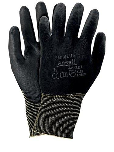 12 Paar Arbeitshandschuhe Handschuhe Montagehandschuhe Schutzhandschuhe aus Baumwolle und komfort und schutz bei leichten arbeiten Gr. 6