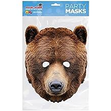 Rubie s France mbear001 – Máscara – cartón Oso