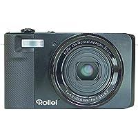 Rollei Powerflex 850 im Retro Design Digitalkamera (16 Megapixel, 12-fach opt. Zoom, mit HD Video Funktion, optischer Bildstabilisator) - Schwarz