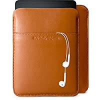 DailyObjects Tan Real Leather Sleeve Case Cover For Amazon Kindle Paperwhite