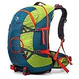 50L professionale adulto Zaino da Trekking Zaino da Trekking Zaino da viaggio zaino con copertura antipioggia per zaino viaggio campeggio alpinista 57x 35x 28cm, verde