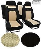 Sitzbezüge, Schonbezüge ,Super Qualität, DESIGN VIP Universal. In diesem Angebot MUSTER 9-B3 (In 9 Farben bei anderen Angeboten erhältlich) . Komplett besteht aus: Sitzbezügen + 5 Kopfstützen + Montagehäckchen.