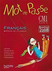 Mot de Passe Français CM1 - Guide pédagogique + CD audio - Ed.2010
