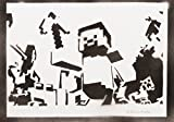 Minecraft Handmade Street Art - Artwork - Poster