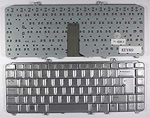 Dell XPS M1530 Argent Layout Royaume-Uni Clavier pour ordinateur portable (PC) de remplacement