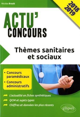Thèmes sanitaires et sociaux 2018