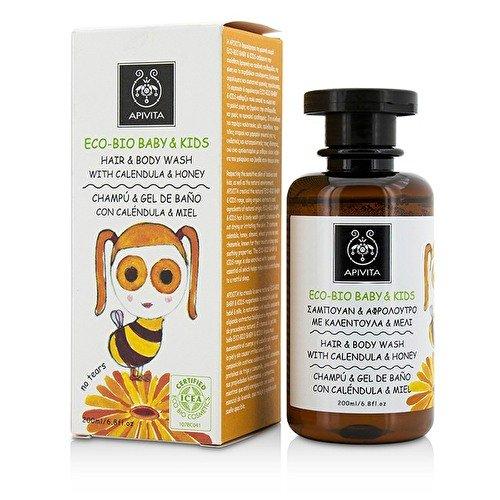 Apivita - Champú bio eco baby con caléndula & miel