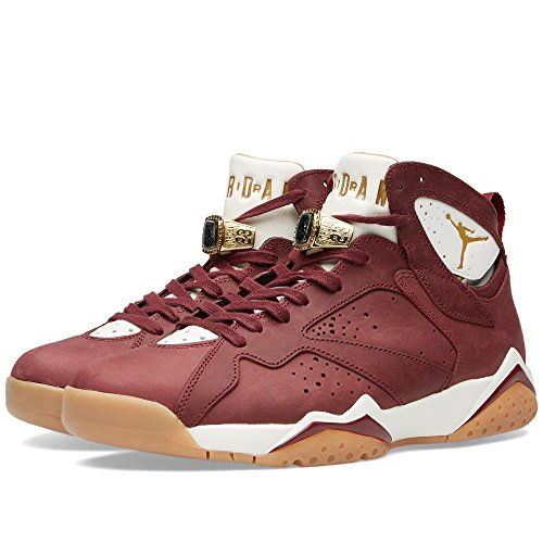 Nike Air Jordan 7 retro C&C 725093 630 (41 / 8 us / 7 uk) Bordeaux