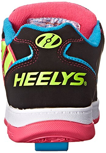 Heelys Mädchen Propel 2.0 770512 Lauflernschuhe Sneakers multi (Black/Neon Multi)