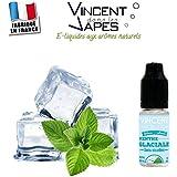 E-liquide Menthe glaciale - VDLV - Sans tabac ni nicotine - Vente interdite au moins de 18 ans - Produit vendu à l'unité - 0 mg