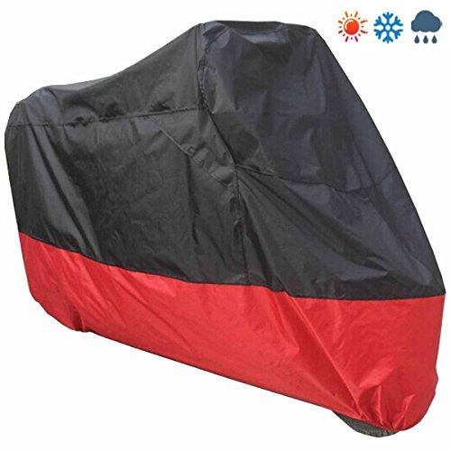 Preisvergleich Produktbild Possbay Motorrad Abdeckplane Motorradabdeckung mit Tasche Wasserdicht Anti-UV M 200x90x100cm Outdoor Indoor Sommer