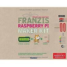 FRANZIS Raspberry Pi Maker Kit: 20 Faszinierende Projekte, eigenes Gamepad für Spiele. Geeignet für Raspberry Pi 3 Modell B und B+