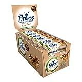Fitness Delice Barretta di Cereali Cioccolato al Latte Gusto Nocciola - Pacco da 24