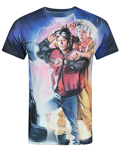 Uomo - Vanilla Underground - Back To The Future 2 - T-Shirt (M)