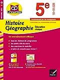 Histoire-Géographie Éducation civique 5e: cahier de révision et d'entraînement