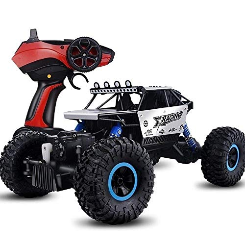 Mopoq 1/10 Skala schnell Off-Road 4WD RC Rennwagen Elektro Off-Road 2,4 GHz Funkfernbedienung RTR Buggy Rock Crawler Monster Truck 45 Killometer/h High Speed   Hobby Auto Spielzeug Geschenk for Kind