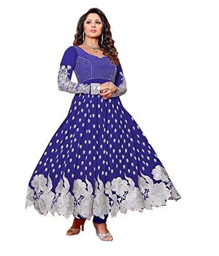 Anarkali Dress Semi Stitch Only Rs.199/- Without Duppata