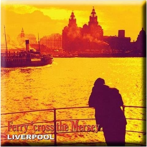Magic Moments Ferry Cross The Mersey nuevo oficial Imán 75mm X 75mm