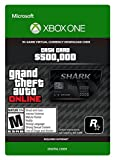 Grand Theft Auto Online | GTA V Blue Shark Cash Card | 500,000 GTA-Dollars | Xbox One Download Code