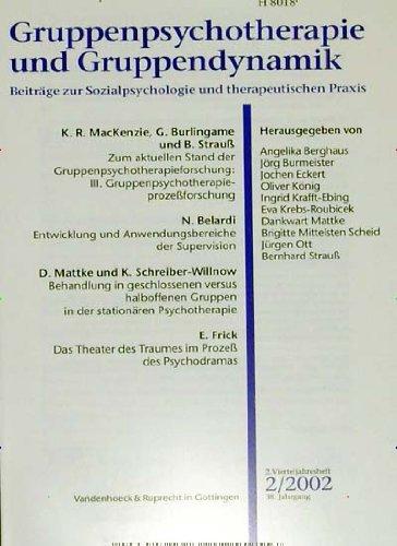 Gruppenpsychotherapie und Gruppendynamik [Jahresabo]