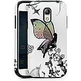 Samsung Galaxy S4 mini Outdoor Hülle Tough Case Cover Elfe Fee Schmetterling