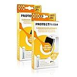 ProtectPax Smartwatch Flüssiger Bildschirmschutz aus die Höhle der Löwen - für Alle Samsung Apple Watch Nano Versiegelung Schutzfolie Panzerglas (2er Set)