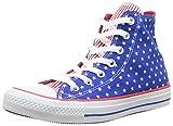 Converse Chuck Taylor All Star Femme Plus Star Hi 381120, Damen Sneaker, Blau (53 BLEU/BLC/RGE), EU 40