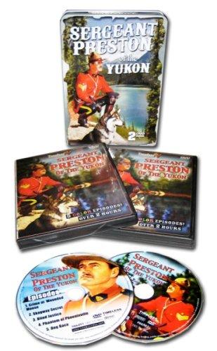 Sergeant Preston Of The Yukon (2pc) / (B&W Tin) [DVD] [Region 1] [NTSC] [US Import]