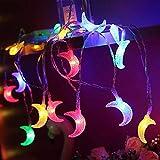 1,5 Mt / 3 Mt / 6 Mt Mondförmige LED Lichterketten Festival Beleuchtung Märchen Weihnachtsbaum Hochzeit Ramadan Dekoration