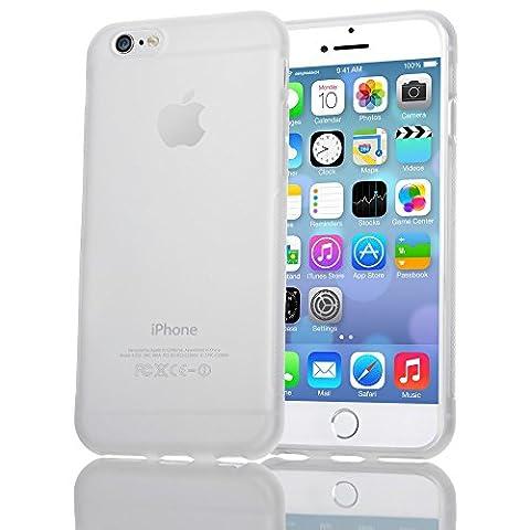 Apple iPhone 6 6S Coque Protection de NICA, Housse Silicone Portable Mince Souple, Tele-Phone Case Anti-Derapante Cover Premium, Incassable Ultra-Fine Resistante Bumper Etui pour ip-6 6S - Transparent