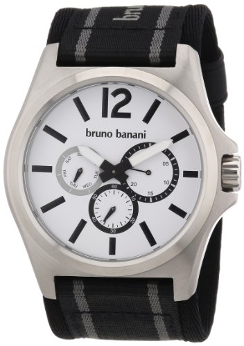 Bruno Banani Men's Quartz Watch BR21028 with Textile Strap
