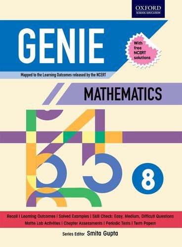 Genie Mathematics 8 (NCERT)