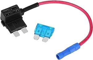 Auto Blade Sicherung Sicherungsadapter 5 Stück Auto Sicherungshahn Adapter Mini Atm Blade Sicherungshalter Standard Auto