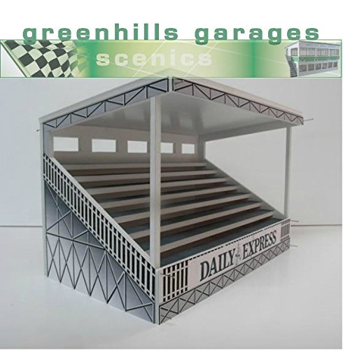 Greenhills Scalextric Slot Car Building Kit Silverstone