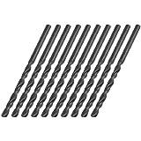 Sourcingmap Lot de 10 points de diamètre 3,2 mm Longueur 65 mm Queue droite acier rapide