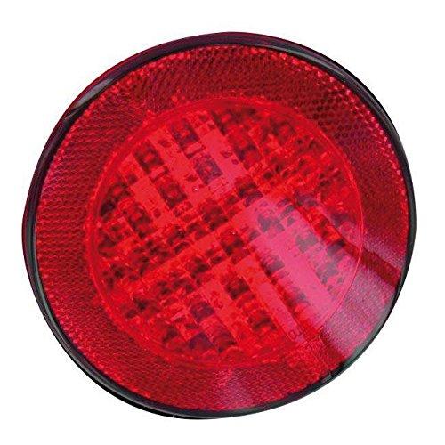 V PARTS - 11753 : Reflex reflector catadioptrico rojo